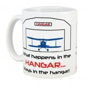 What Happens In The Hangar Mug