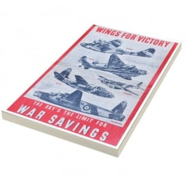 Star Editions Wings for Victory A5 Note pad