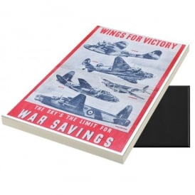 Star Editions Wings for Victory A6 Magnetic Note pad