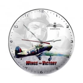 Gifts For Aviators Wings For Victory Airplane Wall Clock
