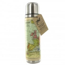 World Map Travel Flask