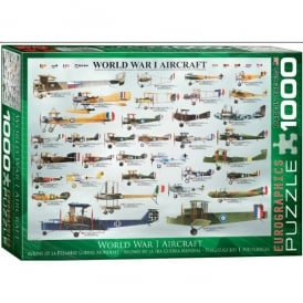 World War 1 Aircraft Jigsaw Puzzle (1000 pieces)