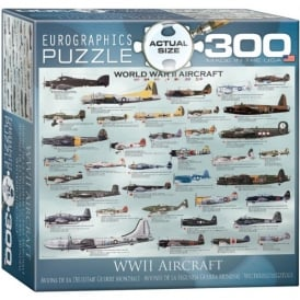 EuroGraphics World War 2 Aircraft Jigsaw (300 XL pieces)
