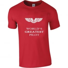 Chocks Away World's Greatest Pilot T-Shirt