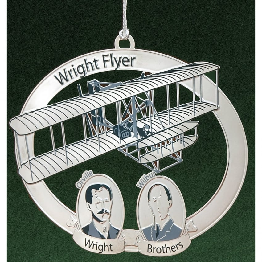 Wright Brothers Christmas Tree Aircraft Ornament - Last One