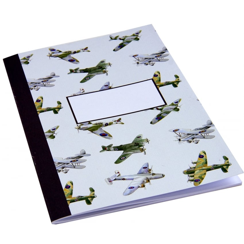 WW2 Planes Montage Notebook