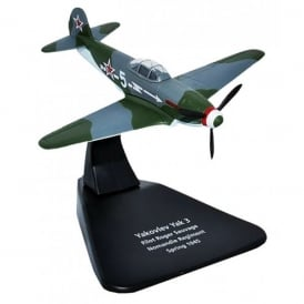 Oxford DieCast Yak 3 Normandie Regiment 1945 Diecast Model - Scale 1:72